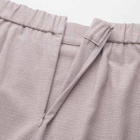 """ラップナロースカート(マイクロチェック)いつでもはける厚みの生地を新開発!3色使った繊細なデザインのガンクラブチェック。</p> <p>、32 BEIGE"""" /><br /><br />お値段:<span style="""